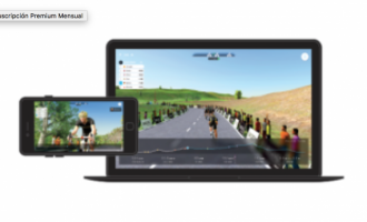 Plataformas virtuales Bkool o Zwift